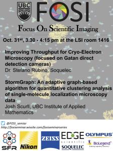 FOSI Seminar on October 31st (Thursday) 3:30pm LSI room1416